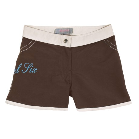 Level Six Elise Board Shorts (For Girls)