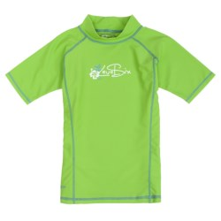 Level Six Stella Rash Guard Shirt - UPF 50+, Short Sleeve (For Girls)