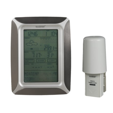 La Crosse Technology Weather Pro Touchscreen Weather Center - Wireless