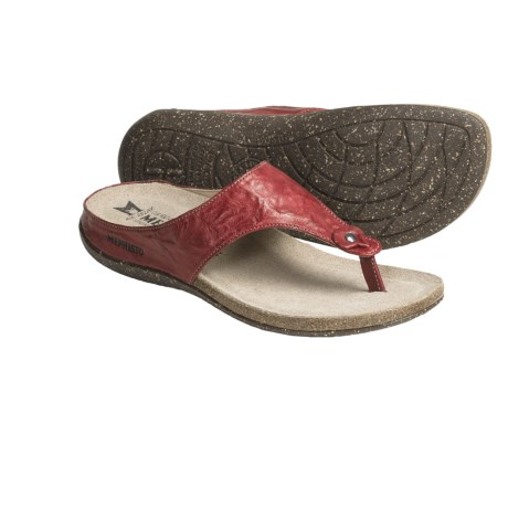Mephisto Agacia Sandals - Thongs, Leather (For Women)