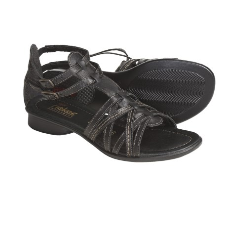 Rieker Sondra 53 Leather Sandals - Gladiator (For Women)