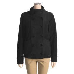 Avalanche Wear Fleece Pea Coat (For Women)