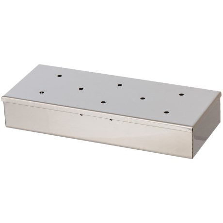 Mr. Bar-B-Q Stainless Steel Wood Chip Smoker Box