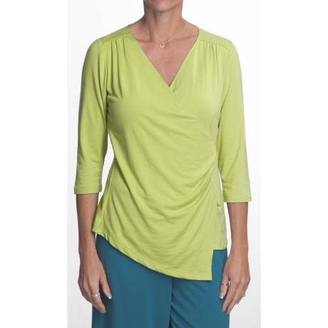 Nomadic Traders Asymmetric Shirt - 3/4 Sleeve (For Women)