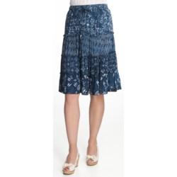 Nomadic Traders Monsoon Four Tier Skirt (For Women)