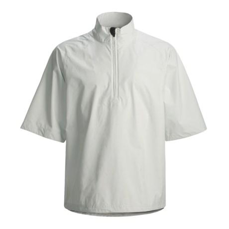 Zero Restriction Packable Jacket - Waterproof, Zip Neck, Elbow Sleeve (For Men)
