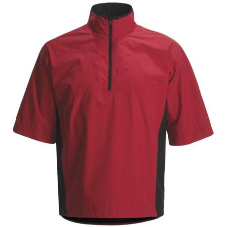 Zero Restriction Packable Waterproof Jacket - Elbow Sleeve (For Men)
