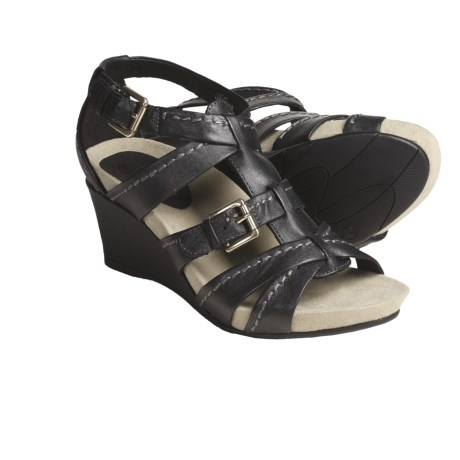 Earthies Lucia Sandals - Leather (For Women)