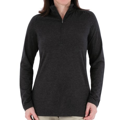 Royal Robbins Essential Stretch Jersey Shirt - UPF 50+, Zip Neck, Long Sleeve (For Women)