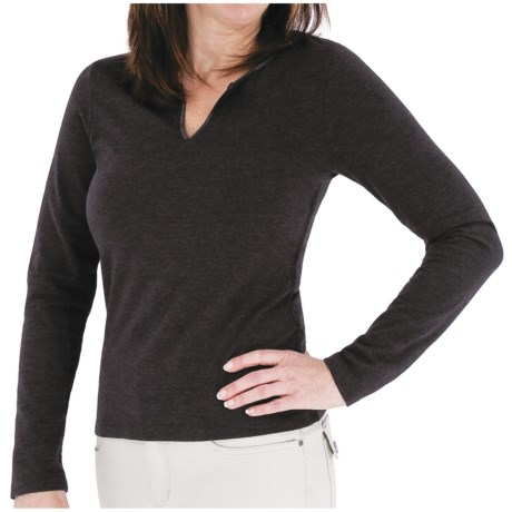 Royal Robbins Essential Notched Shirt - UPF 50+, Long Sleeve (For Women)
