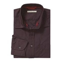 Mason's Cotton Stripe Sport Shirt - Long Sleeve (For Men)
