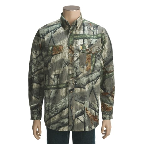 Browning Wasatch Shirt - Button-Down Collar, Long Sleeve (For Big Men)