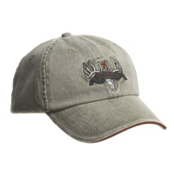 Browning Deer Skull and Rack Ball Cap (For Men and Women)