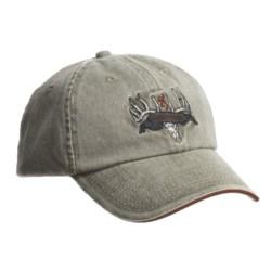 Browning Deer Skull and Rack Ball Cap (For Men and Women)