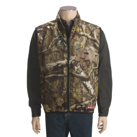 Browning Camo AddHeat Vest - Soft Shell (For Big Men)