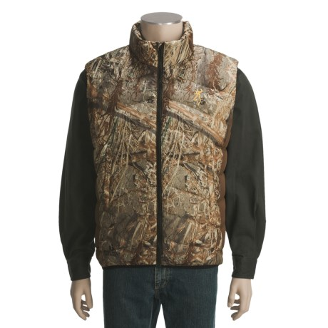 Browning Down Camo Vest - 700 Fill Power (For Big Men)