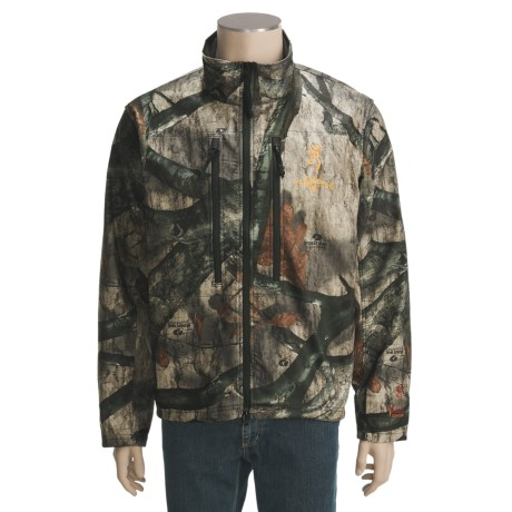 Browning Hells Canyon Full Throttle Camo Jacket (For Men)