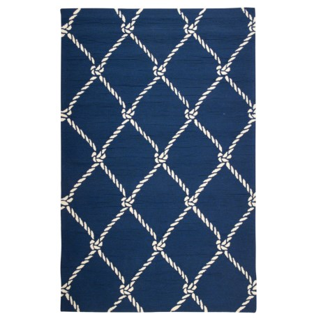 Jaipur Fish Net Indoor-Outdoor Area Rug - 5x7'