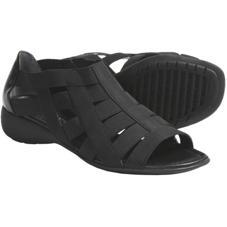 The Flexx Bandini Strappy Stretch Sandals (For Women)