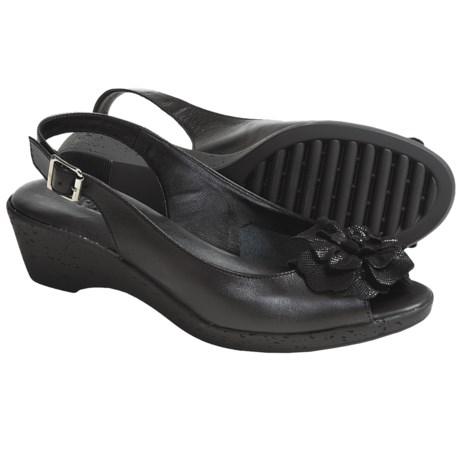 The Flexx Sun Dance Wedge Sandals - Sling-Backs (For Women)