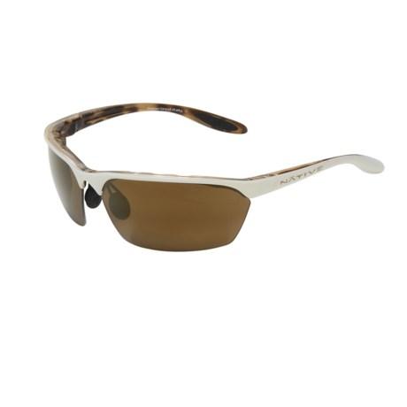Native Eyewear Sprint Sunglasses - Polarized, Reflex Lenses, Interchangeable