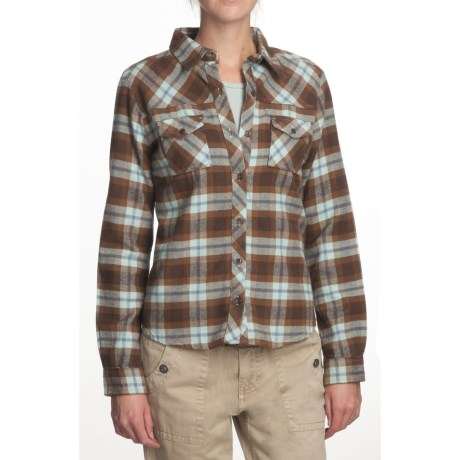 Gramicci Cuzco Nadia Flannel Shirt - Long Sleeve (For Women)