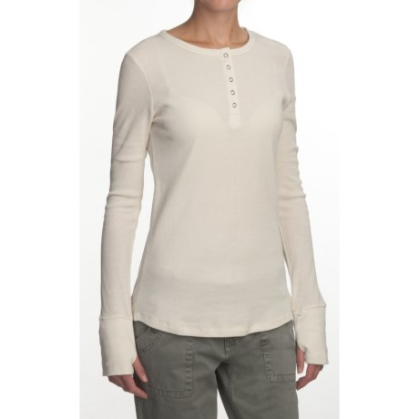 Gramicci Julia Henley Shirt - Long Sleeve (For Women)