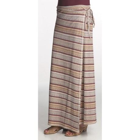 Gramicci Violette Kinkaju Stripe Skirt - UPF 20, Hemp-Organic Cotton (For Women)