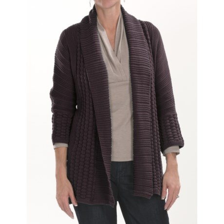 Two Star Dog Georgia Cardigan Sweater - 3/4 Sleeve (For Women)