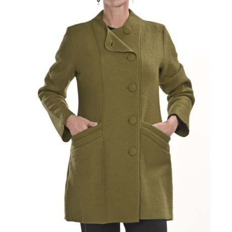 Two Star Dog Hilda Coat - Boiled Wool (For Women)