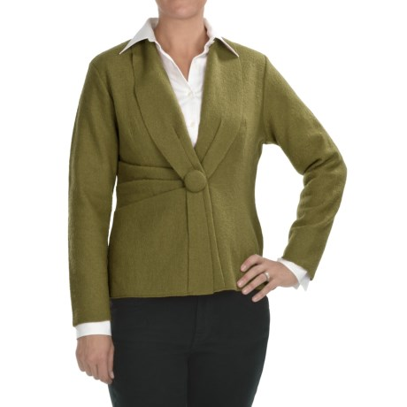 Two Star Dog Alicia Jacket - Boiled Wool (For Women)
