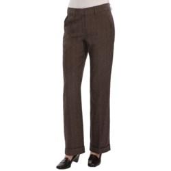 Two Star Dog Nancy Trouser Pants - Herringbone (For Women)