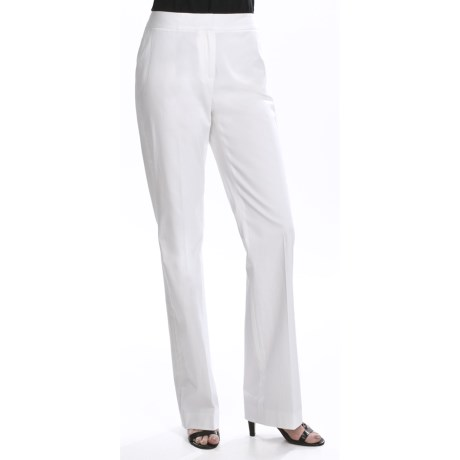 Lafayette 148 New York Classic Sateen Pants - Stretch Cotton (For Women)
