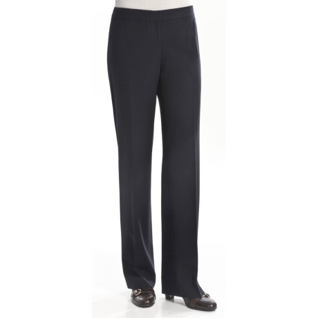 Lafayette 148 New York Astor Contemporary Pants - Stretch Wool (For Women)