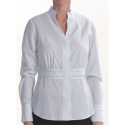 Lafayette 148 New York Bettina Shirt - Cotton, Long Sleeve (For Women)