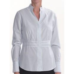 Lafayette 148 New York Bettina Shirt - Cotton, Long Sleeve (For Women)