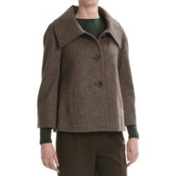 Lafayette 148 New York Cooper Jacket - Heathered Wool-Alpaca (For Women)