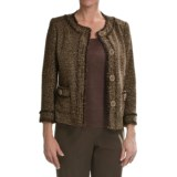 Lafayette 148 New York Coral Jacket - Golden Weave (For Women)