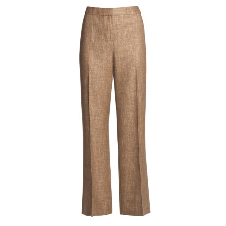 Lafayette 148 New York Classic Hartford Wool Pants (For Women)