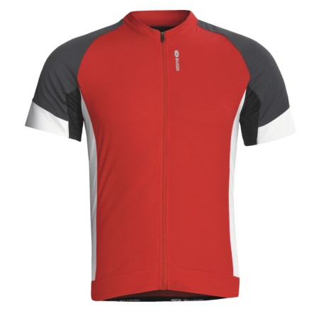 SUGOi Evolution Cycling Jersey - Full Zip, Short Sleeve (For Men)