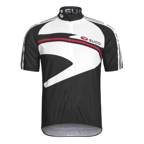 Sugoi Icon Cycling Jersey - Full Zip, Short Sleeve (For Men)