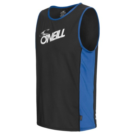 O'Neill Skins Graphic Rash Guard Tank Top - UPF 50+ (For Men)