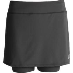 Skirt Sports Breezer Bike Girl Skort - Built-In Shorts with Chamois (For Women)