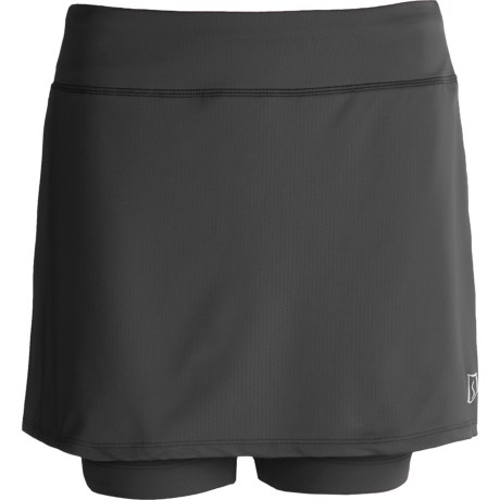 Skirt Sports Breezer Bike Girl Skort - Built-In Shorts with Chamois (For Women)