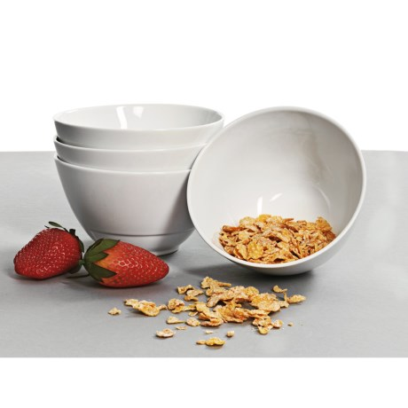 BIA Cordon Bleu Sweep Cereal Bowls - Set of 4, Porcelain