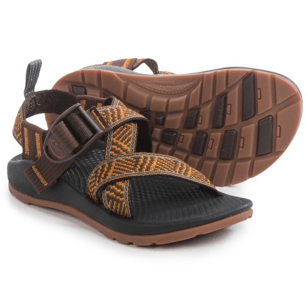 Chaco Z/1 Ecotread Sport Sandals (For Little and Big Kids) in Intersect - Closeouts