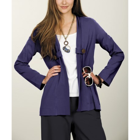 Neon Buddha Urban Tab Jacket - Stretch Cotton Jersey (For Women)