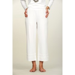 Neon Buddha Ankle Pants - Stretch Cotton (For Women)