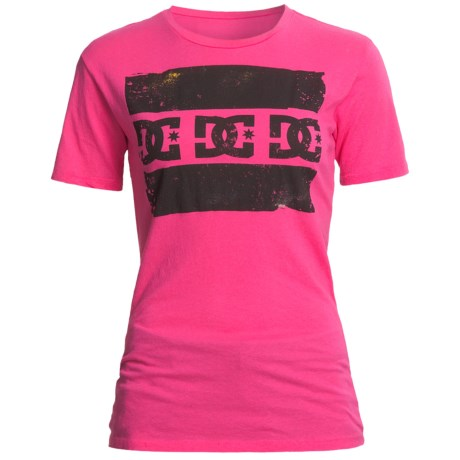 DC Shoes Sinister T-Shirt - Crew Neck, Short Sleeve (For Women)