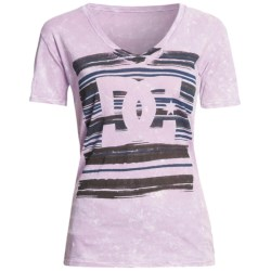 DC Shoes Blanko T-Shirt - Cotton Jersey, Short Sleeve (For Women)
